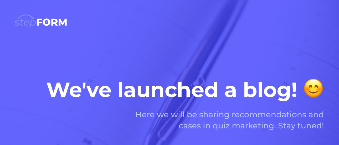 We opened a blog!